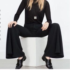 Zara Studio Extra Flare Trouser. Blogger Favorite